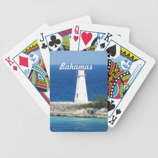 Bahama Lighthouse Bicycle Playing Cards