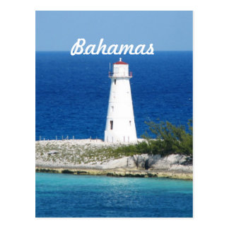 Bahama Lighthouse Postcard