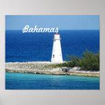Bahama Lighthouse Poster
