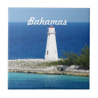 Bahama Lighthouse Ceramic Tile