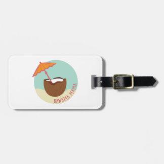 Bahama Mama Bag Tag