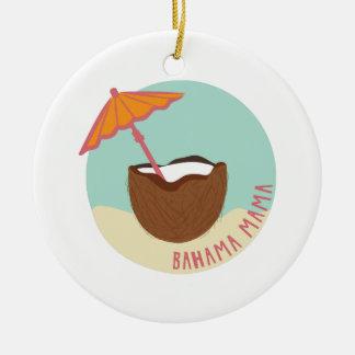 Bahama Mama Ceramic Ornament
