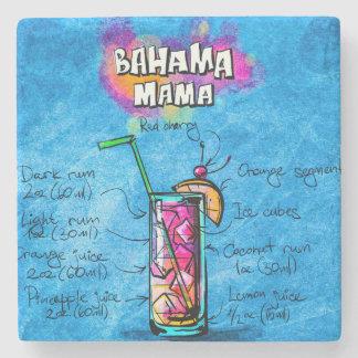 Bahama Mama Cocktail Recipe Marble Stone Coaster