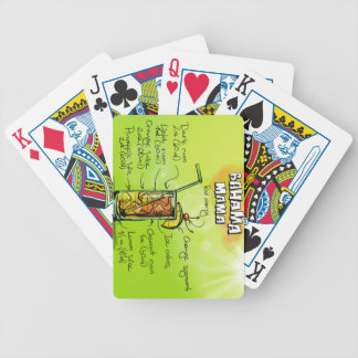 Bahama Mama Drink- Cocktail Gift Bicycle Playing Cards