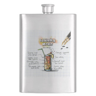 Bahama Mama Hip Flask