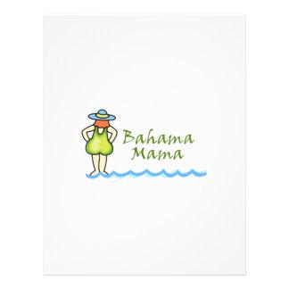 Bahama Mama Letterhead Design