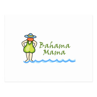 Bahama Mama Postcard