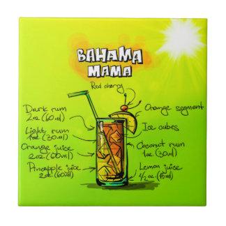 """Bahama Mama Small 4.25"""" x 4.25"""" Ceramic Photo Tile"""
