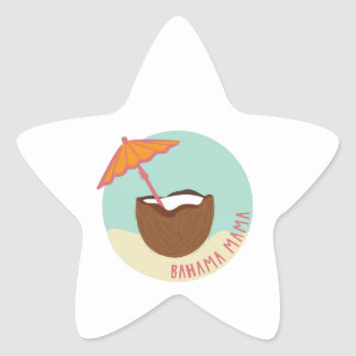 Bahama Mama Star Sticker