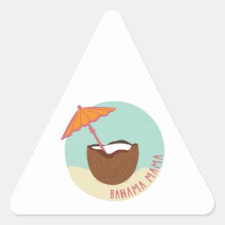 Bahama Mama Triangle Sticker