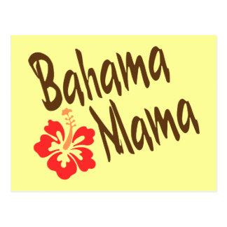 Bahama Mama with hibiscus Postcard