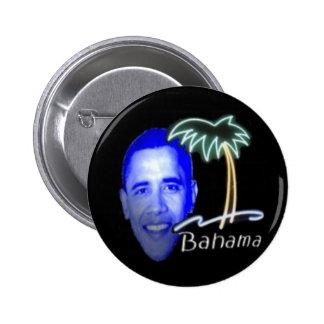 Bahama Obama Pin Redondo De 2 Pulgadas