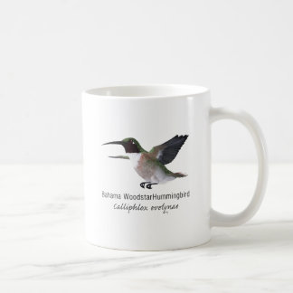 Bahama Woodstar Hummingbird with Name Coffee Mug