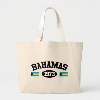Bahamas 1973 canvas bags