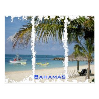 Bahamas 2 Distressed Postcard