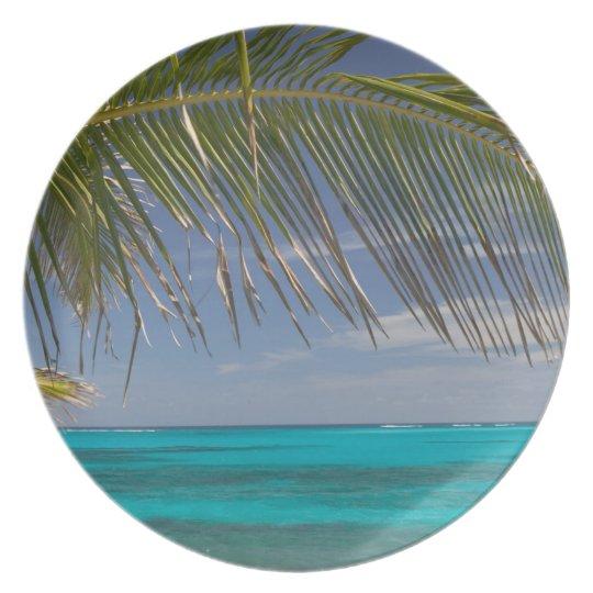 BAHAMAS, Abacos, Loyalist Cays, Man O'War Cay: Melamine Plate