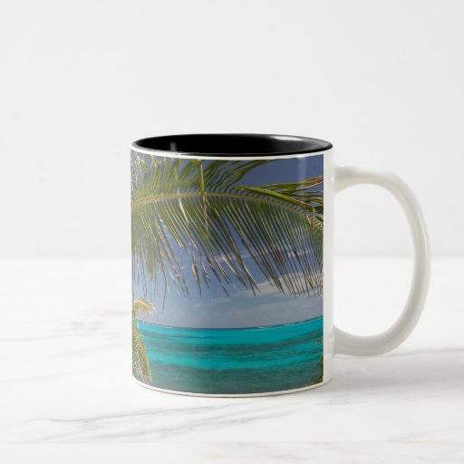 BAHAMAS, Abacos, Loyalist Cays, Man O'War Cay: Two-Tone Coffee Mug