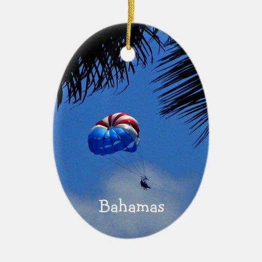 Bahamas Adorno Ovalado De Cerámica
