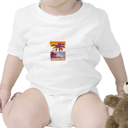 Bahamas Baby Bodysuits