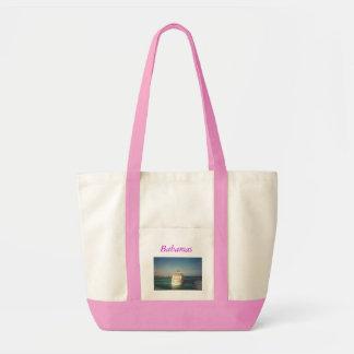 bahamas, Bahamas Canvas Bags