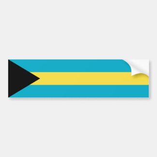 Bahamas/Bahamian Flag Bumper Sticker