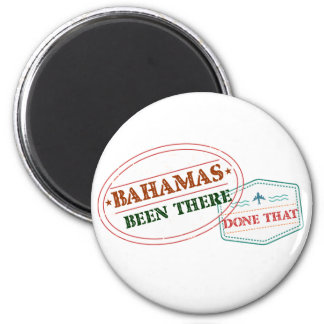Bahamas Been There Done That Magnet