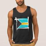 Bahamas Brush Flag Tank Top