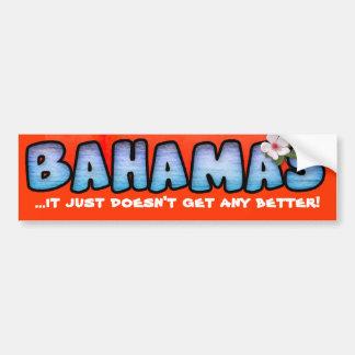 Bahamas Bumper Stickers