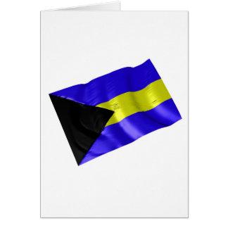 bahamas greeting card