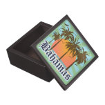 Bahamas Caribbean Islands Souvenir Premium Jewelry Box