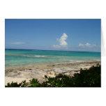 Bahamas Cay note card, blank
