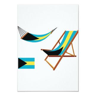 Bahamas Chairs Invitations