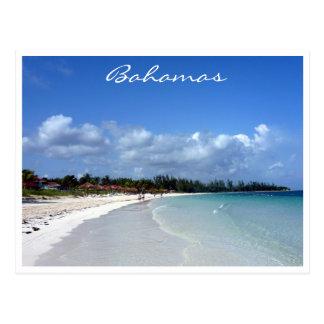 bahamas coast border post cards