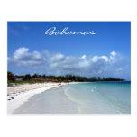 bahamas coast postcard