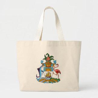 Bahamas Coat of Arms Tote Bags