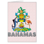 Bahamas Coat of Arms Cards