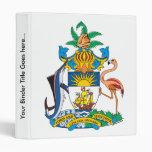 Bahamas Coat of Arms detail Binder