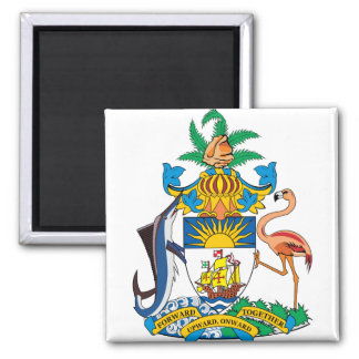 Bahamas Coat of Arms detail Fridge Magnets