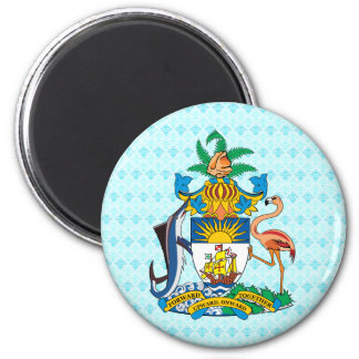 Bahamas Coat of Arms detail Refrigerator Magnet