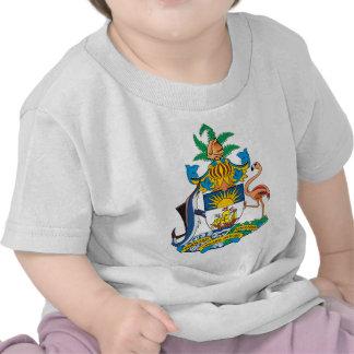 Bahamas Coat of Arms detail Tee Shirt