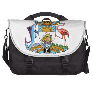 Bahamas Coat of Arms Laptop Messenger Bag