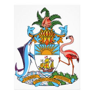 Bahamas Coat of Arms Letterhead