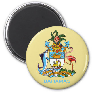 Bahamas Coat of Arms Magnet