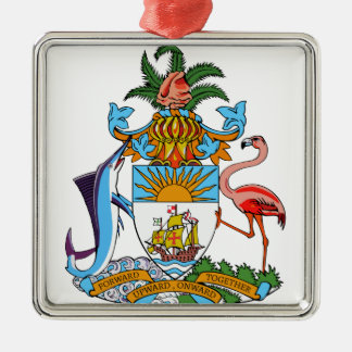 Bahamas Coat of Arms Ornament