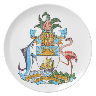 Bahamas Coat Of Arms Plate