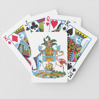 Bahamas Coat Of Arms Bicycle Playing Cards