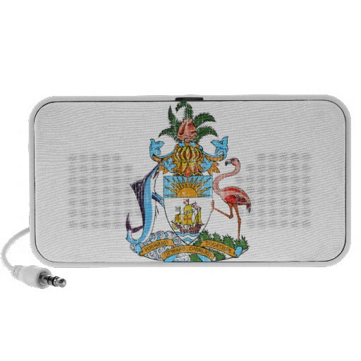 Bahamas Coat Of Arms Portable Speaker