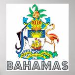 Bahamas Coat of Arms Print