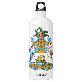 Bahamas Coat Of Arms Water Bottle