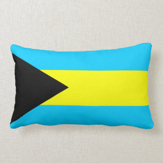 bahamas country flag pillow